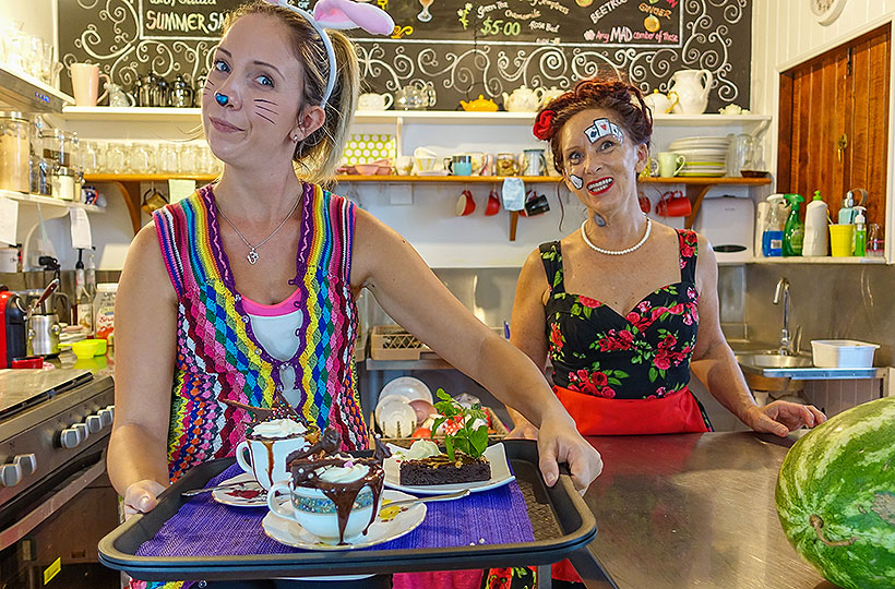 Yungaburra's Mad Hatters Cafe